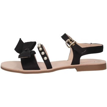 Schuhe Kinder Sandalen / Sandaletten Florens F765441V NERO schwarz