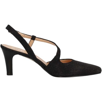 Schuhe Damen Pumps Soffice Sogno E9360 BLACK