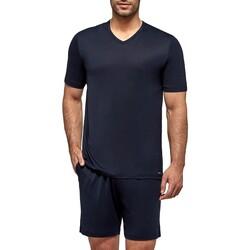 Kleidung Herren Pyjamas/ Nachthemden Impetus Travel 4065F84 F86 Blau
