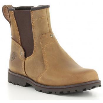 Schuhe Jungen Boots Timberland ASPHALT TRAIL CHELSEA  C1381R, C1371R, C1391R Marron