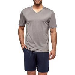 Kleidung Herren Pyjamas/ Nachthemden Impetus Travel 4065F84 G20 Grau