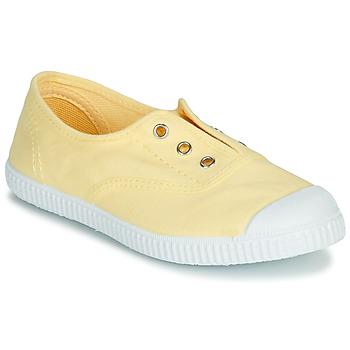 Schuhe Mädchen Sandalen / Sandaletten André LES VACANCES Gelb