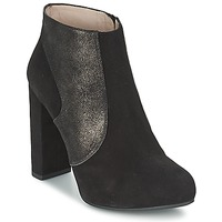Schuhe Damen Low Boots Unisa SAFIR Schwarz