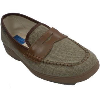 Schuhe Herren Hausschuhe Made In Spain 1940 Schuhmann, der Schuh simuliert Alberola Beige