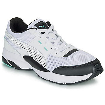 Schuhe Sneaker Low Puma FUTURE RUNNER PREMIUM Weiss / Schwarz
