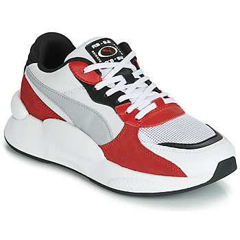 Schuhe Kinder Sneaker Low Puma RS-98 SPACE JUNIOR Weiss / Rot