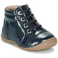 Schuhe Mädchen Boots Citrouille et Compagnie NICOLE.C Vvn / Marine / Dtx / Kezia