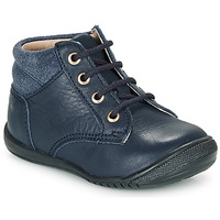 Schuhe Jungen Boots Citrouille et Compagnie RATON.C Marine / Dtx / Raiza