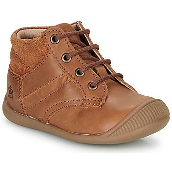 Schuhe Jungen Boots Citrouille et Compagnie RATON.C Braun / Dtx / Raiza