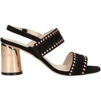 Schuhe Damen Sandalen / Sandaletten Melluso S553M BLACK