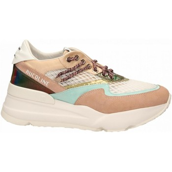 Schuhe Damen Sneaker Low Rucoline SATIN AIR nude-azure