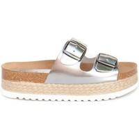 Schuhe Damen Sandalen / Sandaletten Colour Feet TURQUETA Silbern