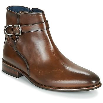 Schuhe Herren Boots Brett & Sons ROBERTO Cognac