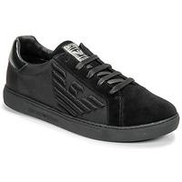 Schuhe Herren Sneaker Low Emporio Armani X4X279-XM035-A085 Schwarz