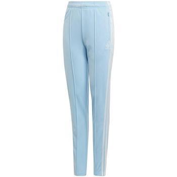 Kleidung Jungen Jogginghosen Adidas Kids DV2367-CELESTE blau
