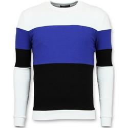 Kleidung Herren Sweatshirts Enos Es F Schwarz, Weiß, Blau