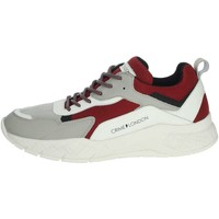 Schuhe Herren Sneaker Low Crime London 11527PP1.71 Grau/Rot