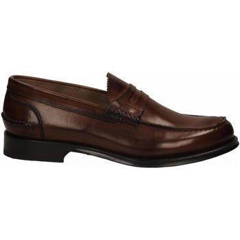 Schuhe Herren Slipper Brecos VITELLO brandy