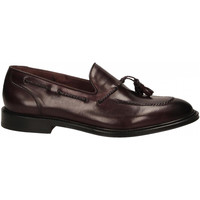 Schuhe Herren Slipper Brecos VITELLO bordeaux