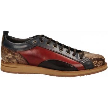 Schuhe Herren Sneaker Low Brecos PITONE roccia