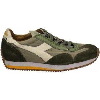 Schuhe Herren Sneaker Low Diadora EQUIPE H DIRTY STONE WASH EVO 75018-grigio-avena