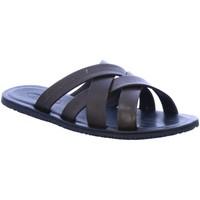 Schuhe Herren Pantoffel Vista Offene 10-23r03 10-23r03 braun
