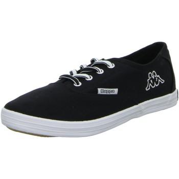 Schuhe Herren Sneaker Low Canadians Leinen Schnürhalbschuh HOLY 241445/1110 schwarz