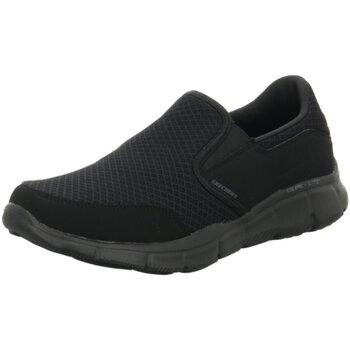 Schuhe Herren Slip on Skechers Slipper EQUALIZER 51361-BBK schwarz