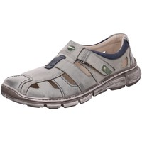 Schuhe Herren Sportliche Sandalen Krisbut Slipper 4760-5-1 grau