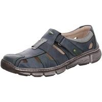 Schuhe Herren Sportliche Sandalen Krisbut Slipper Leichter Slipper in Blau 4760-4 blau