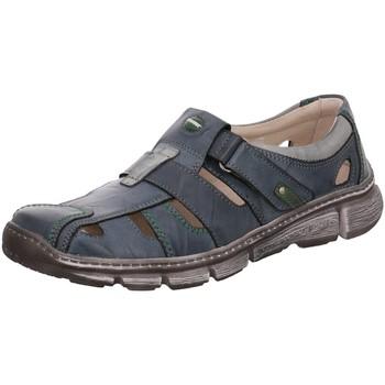 Schuhe Herren Sportliche Sandalen Krisbut Slipper 4760-4 blau