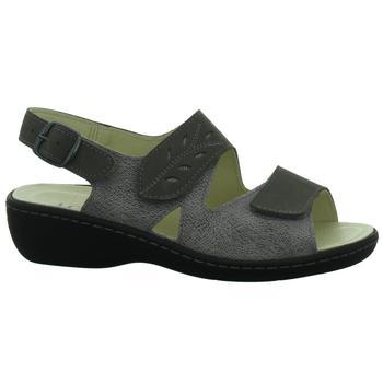 Schuhe Damen Sandalen / Sandaletten Longo Sandaletten Beq-Sandl-Wörishf-30 1006419 2 schwarz