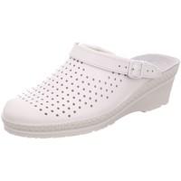 Schuhe Damen Pantoletten / Clogs Rohde Pantoletten 1474-00 weiß