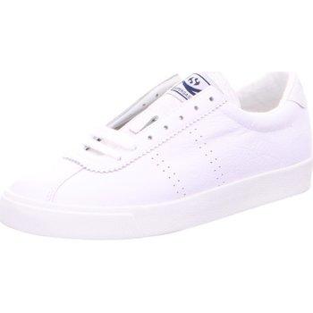 Schuhe Damen Sneaker Low Superga 2843-Comflealame S00C4F0-915 weiß