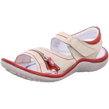 Schuhe Damen Sportliche Sandalen Krisbut Sandaletten 2118-3-1 beige