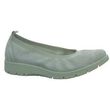 Schuhe Damen Ballerinas Longo Beq.bis35mm-Abs/Keil 1009333 grau