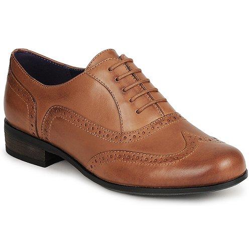 Schuhe Damen Richelieu Clarks HAMBLE OAK Braun