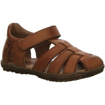Schuhe Jungen Sandalen / Sandaletten Naturino Sandalen 0D06-001-1500724-01 cognac Nappa 0D06-001-1500724-01 braun