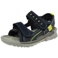 Schuhe Jungen Sportliche Sandalen Ricosta Trekkingsandalen TAJO 4522600-176-tajo blau