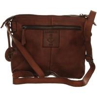 Taschen Damen Umhängetaschen Harbour2Nd Mode Accessoires B3.7599 CHARMING COGNAC braun