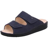 Schuhe Damen Pantoffel Finn Comfort Offene RIAD 01505-636046 636046 blau