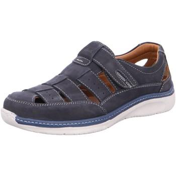 Schuhe Herren Sportliche Sandalen Ara Slipper Pedro H blau
