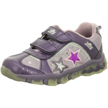 Schuhe Mädchen Sneaker Low Brütting Klettschuhe Blinky Avery V 300156 lila