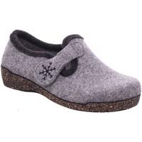 Schuhe Damen Hausschuhe Fischer Schuhe 205620 grau