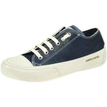 Schuhe Damen Sneaker Low Candice Cooper Schnuerschuhe Rock 01 Rock-01-navy-panna blau