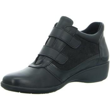 Schuhe Damen Boots Longo Stiefeletten Beq.Schn?r/Schlupfstf 1005700 schwarz