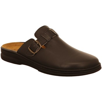 Schuhe Herren Pantoletten / Clogs Algemare Offene 7990 79900101 schwarz