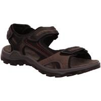 Schuhe Herren Sportliche Sandalen Rohde Offene 5945/90 schwarz