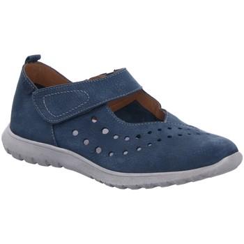 Schuhe Damen Slipper Josef Seibel Slipper MALENA 11 blau