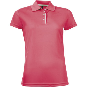 Kleidung Damen Polohemden Sols PERFORMER SPORT WOMEN Rosa